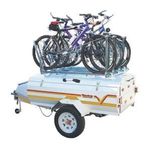 Bike rack accessory for 4 bikes