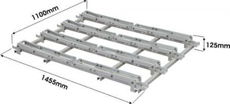 Bike rack dimensions