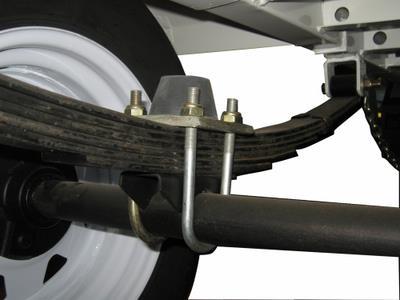 Bump-stop on axle