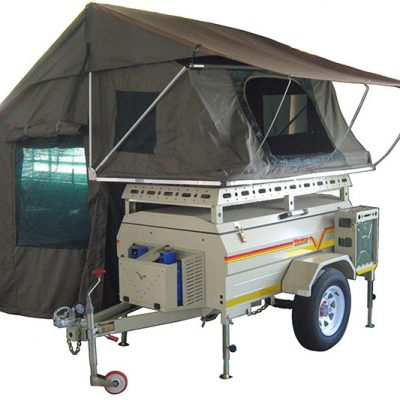 Savuti with tent